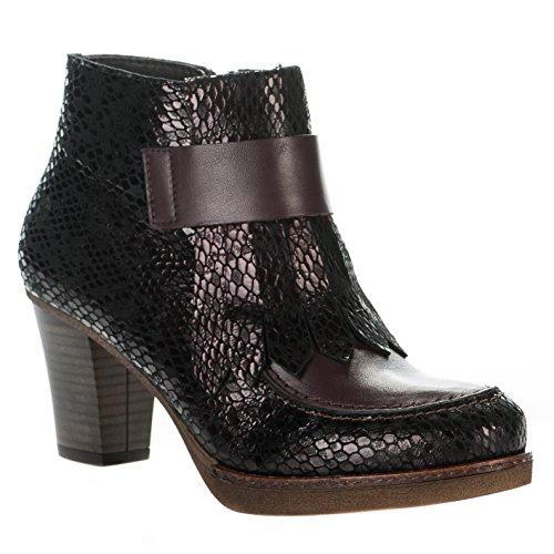 Boots femme - APPLE LOVE - Violet prune - LOCA 05 - Millim Violet