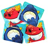 Reusable snack bags for Baby Led Weaning, toddlers and school snacks PACK of 4