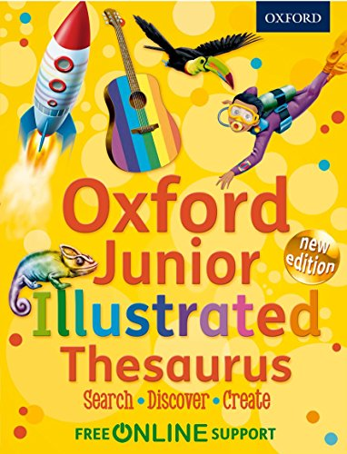 Oxford Junior Illustrated Thesaurus 2012