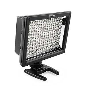 Yongnuo YN-160 S Profi Videolicht Kameralicht mit 160 LED - 1480 lumen für Videokamera, Camcorder oder Digitalkameras SLR DSLR inkl. Standfuß