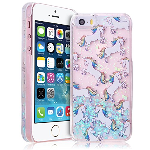smart-legend-protective-liquid-glitter-hard-plastic-case-cover-for-apple-iphone-se-5s-5-clear-transp