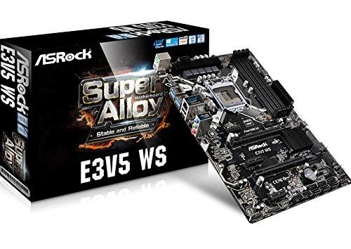 ASRock E3V5 WS - Placa Base Grado Servidor Chipset