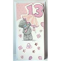 Me to You Birthday Card - 13th (Umbrella)