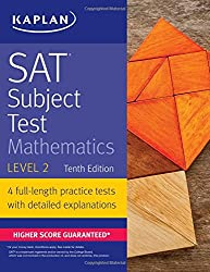 SAT Subject Test Mathematics Level 2 (Kaplan Test Prep)