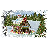 Folienbild Klebebilder Fensterdeko Weihnachten selbstklebend wetterfest, Fotoqualität