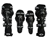 #4: AllExtreme - Sports Safety Protection Knee Pads (4pcs) - Black