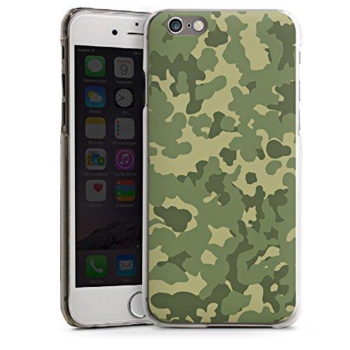 Apple iPhone 5 Housse Étui Silicone Coque Protection Motif Motif Vert CasDur transparent