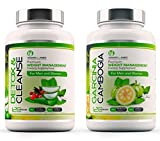 SPECIAL OFFER GARCINIA CAMBOGIA x120 + DETOX CLEANSE x120 - Garcinia Cambogia Whole Fruit Max Strength Fat Burner and Colon Cleanse Detox Capsules - Slimming Diet Pills | Suppress Appetite, Block Fat Production and Increase Energy for Weight Loss by Howar