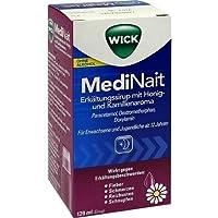 Preisvergleich für Wick MediNait Erkältungssirup mit Honig- und Kamillenaroma Saft, 120 ml