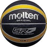 Molten Basketball, Größe 5, Schwarz/Gelb