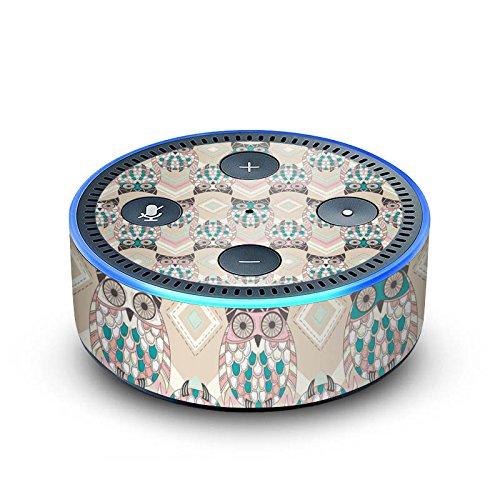 DeinDesign Amazon Echo Dot 2.Generation Folie Skin Sticker aus Vinyl-Folie Eulen Pastel Pastell