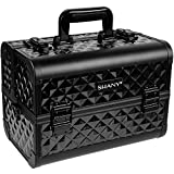 Best Train Cases - Shany Diamond Collection Premium Makeup Train Case In Review