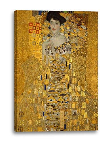 Gustav Klimt - Adele Bloch-Bauer I (1907), 60 x 80 cm (weitere Größen verfügbar), Leinwand auf...