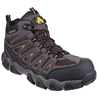 Amblers AS801 Rockingham Safety Hiker Work Boots Waterproof 6-12 S3 WR HRO (UK 9)