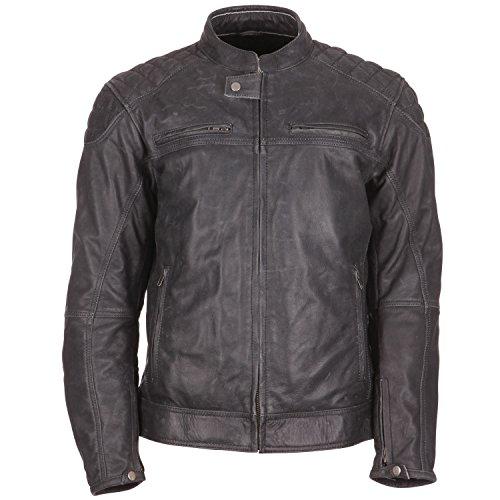 *Modeka MEMBER Lederjacke Herren Motorrad Urban – schwarz Größe L*