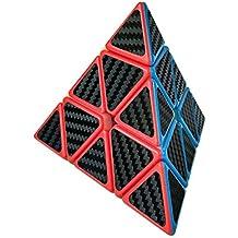 Wings of wind - Pyraminx cubo mágico cubo de la fibra de carbono cubo cubo 3x3 cubo mágico de la pirámide