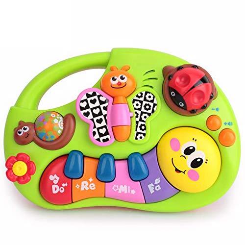 TT GO Apprentissage des Doigts avec Piano, avec Fonction Vocale pour Animaux, Musique, Ajustement du Volume De La Chanson pour Enfants Early Education Puzzle