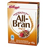 Kellogg's All Bran Cereali e Muesli - Confezione da 40 x 45 gr