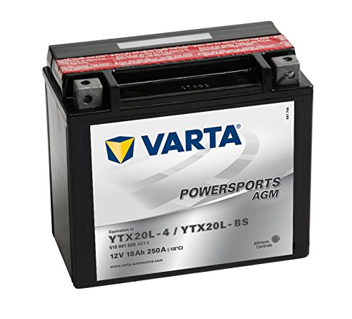 VARTA 518901026A514 Autobatterien Moba Fun-Start AGM 12 V 18 mAh 260 A