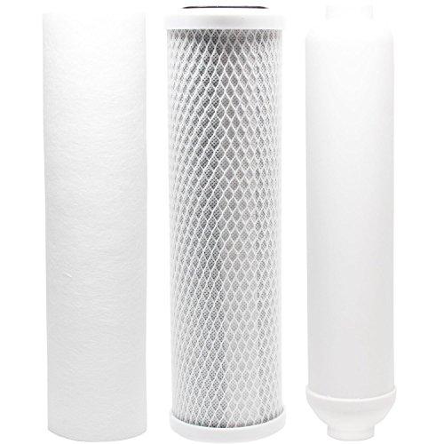 Nährstoff-kit (Ersatz Filter Kit für puromax PC4RO System-inkl. Carbon Block Filter, Sediment Filter & Inline Filter Kartusche)