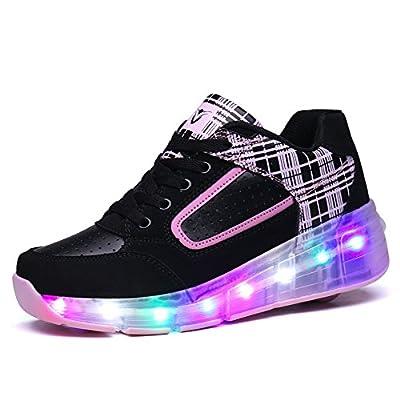Zombies Jungen Mädchen Roller Skate Schuhe mit Rädern Licht