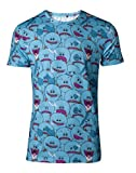 Rick and Morty T-Shirt AOP Mr Meeseeks Men's T-Shirt Blue-XL