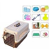 xueyan& Pet air box hund katze aus der box luft verschiffen lieferung box koffer käfig zugstange riemenscheibe tragbare out, xxl, b