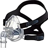 CPAP Full Mask Silicone Large with Head Attachments