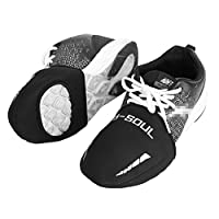 Vbestlife 2 Pairs Cycling Shoe Toe Covers with Opening for Cleats, Neoprene