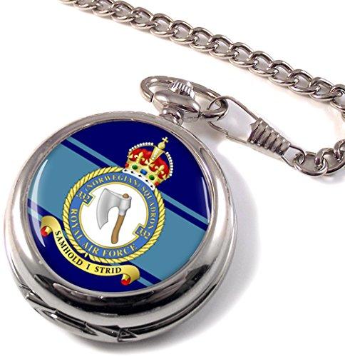 No. 332Norwegische Squadron Royal Air Force (RAF) Taschenuhr