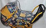 Sunnybaby Set - Regenverdeck und Einkaufsnetz für Puppenwagen - Farbe Schwarz