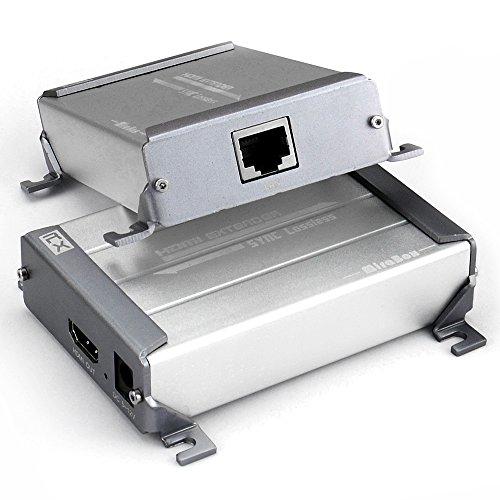 Preisvergleich Produktbild Mirabox HDMI Extender über Cat5 / Cat5e / Cat6 / Cat6e Single LAN Kabel 100 m Lossless No-DelayKeine Latenz für DVR, DVD, Heimkino