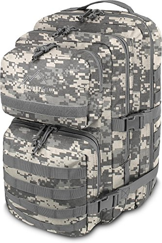 normani US Assault Cooper Pack Large Rucksack im Military Style Farbe at-Digital Größe 30 Liter