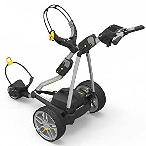 """""""NEW 2016"""" POWAKADDY FW7s ELECTRIC GOLF TROLLEY + EXTENDED LITHIUM BATTERY & CHARGER"""