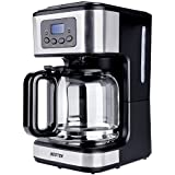 BESTEK Drip Coffee Maker 12 Cup Programmable Brewer Automatic Drip With Carafe