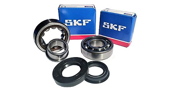 Skf C4 Crankshaft Bearing Set Of Cylinder Rollers High End Yamaha Aerox Mbk Nitro Minarelli Auto