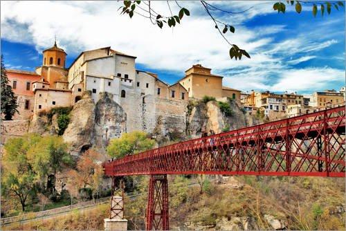 Posterlounge Lienzo 180 x 120 cm: Cuenca