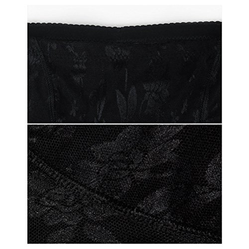 Zhhlaixing Donne Buttock Padded Fake Ass Lift Up Butt Underwear Enhancer Brief Shapewear Black