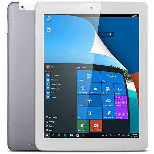 Teclast X98 Plus II - 9.7 Zoll Tablet PC Windows 10, Android 5.1 (4GB RAM, 64GB ROM, 2048x1536 pixel, 64bit, Intel Cherry Trail X5 1.44GHz bis zu 1.92 GHz, Intel HD Grafik Gen8, WIFI, BT, OTG)