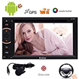 Android 5.1 Lollipop Car Stereo CD DVD-Player EinCar 6.2 '' Octa-Core 2 GB RAM 32 GB ROM-Doppelt-L?rm in Schlag-Auto-FM / AM / RDS-Radio-Tuner 1080P Video Player Navigator mit Bluetooth Wifi GPS Navigation Mirrorlink Zoll