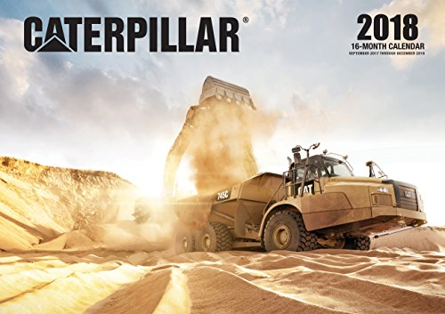 Caterpillar 2018: 16 Month Calendar Includes September 2017 Through December 2018 (Calendars 2018)