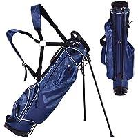 Blitzzauber 24 Golftasche 9 inch Ständerbag Golf Tragetasche Golfbag Pencil Bag Profi-Reisebag
