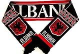 Albanien Schal Fanschal Fussball Schal