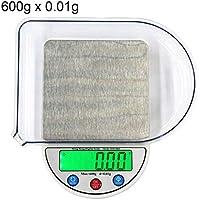 Easy Go Shopping MH-884 600g x 0.01g Dispositivo de Equilibrio de báscula de