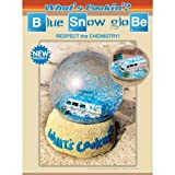 Breaking Bad Whats Cooking - Respect the Chemistry Blue Snow Globe