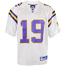 Reebok–Camiseta para hombre, diseño de equipo de fútbol de Minnesota Vikings Troy Williamson Blanco, hombre, color Blanco - blanco, tamaño XL