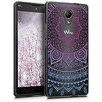 kwmobile Funda para Wiko Robby - Carcasa de [TPU] para móvil y diseño de