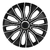 16 Zoll Radzierblenden / Radkappen Voltec pro Black white 16