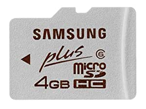 Samsung MB-MP4GEU 4GB Micro SDHC PLUS  Class 6 Extreme Speed Memory Card