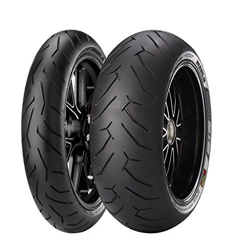 Pneumatici Pirelli DIABLO ROSSO II 120/70 ZR 17 M/C (58W) TL (K) Anteriore SUPERSPORT    gomme moto e scooter
